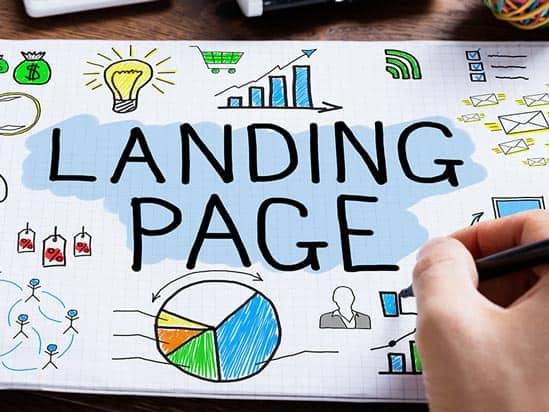 landing pages - marketing digital