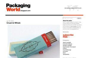 diseño de packaging creativo