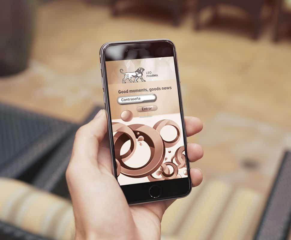 página web y app movil Leo Pharma