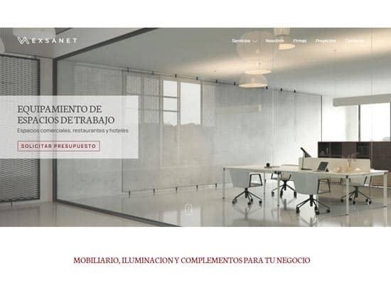 Exsanet mobiliario para reformas barcelona