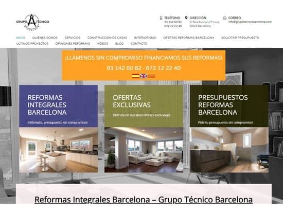 Grupo técnico Barcelona empresa reformas barcelona